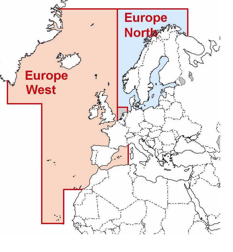 Mapa Lowrance Nauticpath Europa West Karta Sd Motorowki Pl